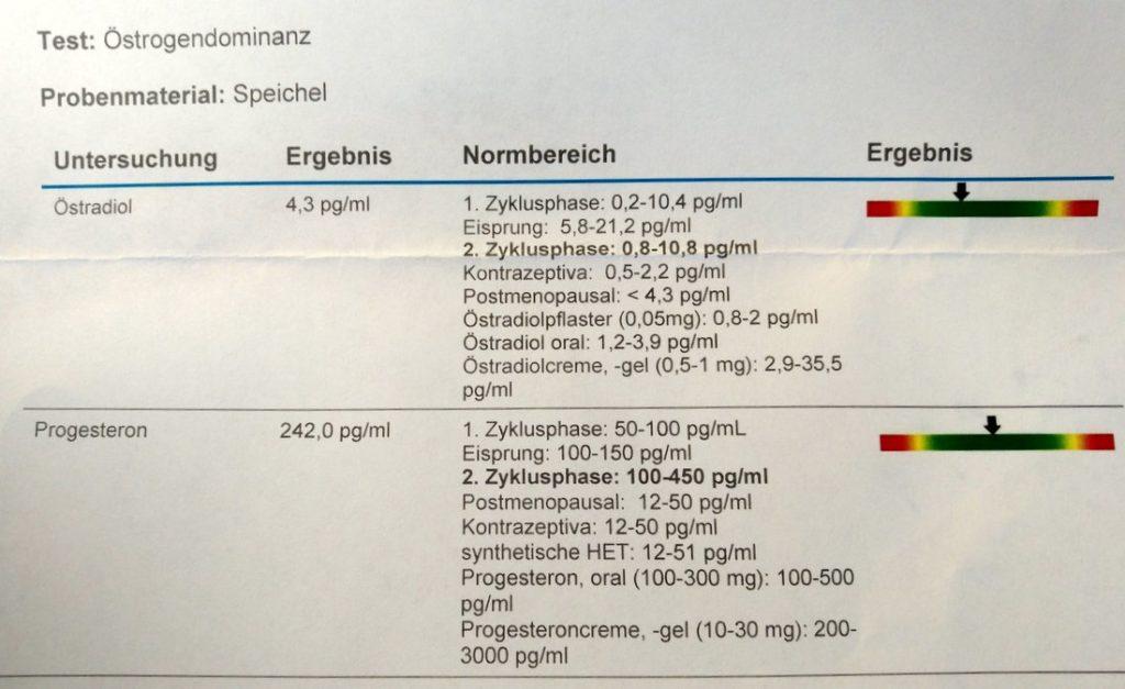 Speicheltest Hormonstatus